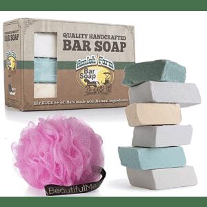 Amish Farms Handmade Bar Soap 6-Pack for $7