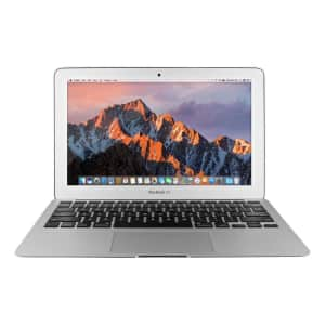 """Apple MacBook Air Broadwell i5 11.6"""" Laptop (2015) for $330"""