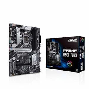ASUS Prime B560-PLUS LGA1200 (Intel 11th/10th Gen) ATX Motherboard (PCIe 4.0, 2xM.2 Slots, 8 Power for $165