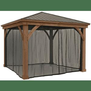 Yardistry Gazebo Mosquito Mesh Kit from $250 for members