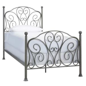 StyleWell Dayport Metal Scroll Bed for $137