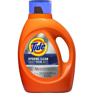 Tide Hygienic Clean Heavy 10x Duty 92-Oz. Liquid Laundry Detergent for $8