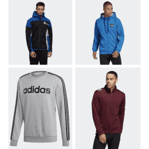 Adidas Men's Sweaters & Hoodies Sale: from $24