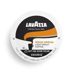 Lavazza Perfetto SingleServe Coffee KCups for Keurig Brewer 32-Pack for $12