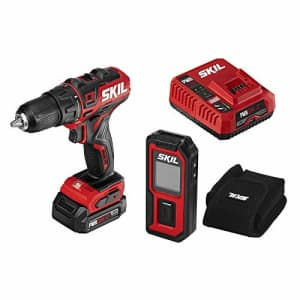 SKIL 2-Tool Combo Kit: PWRCore 12 Brushless 12V 1/2 Inch Cordless Drill Driver and 100 Foot Laser for $131