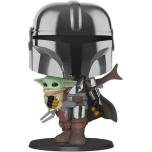 """Funko Pop! Pop! Star Wars: The Mandalorian and The Child 10"""" Vinyl Action Figure for $40"""