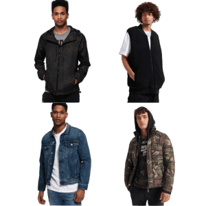 Superdry Men's Jackets: from $56