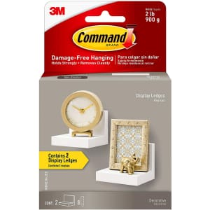 Command Display Ledges 2-Pack for $12