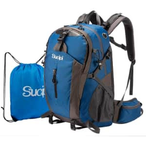 Sucipi Water Resistant Hiking Backpack for $23