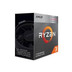 AMD Ryzen 3 3200G 4-Core Unlocked Desktop Processor with Radeon Graphics for $189