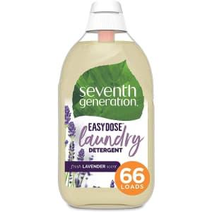 Seventh Generation EasyDose 23-oz. Laundry Detergent for $11