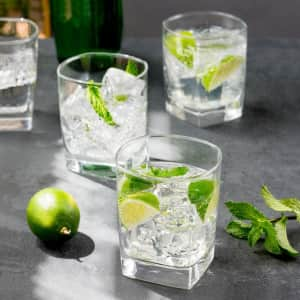 Luminarc Sterling 13-oz. Double Old Fashioned Glass 4-Pack for $10