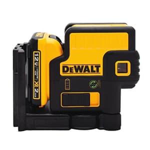 DEWALT 12V MAX Laser Level, 5 Spot Green Laser, 150-Foot Range (DW085LG) for $649