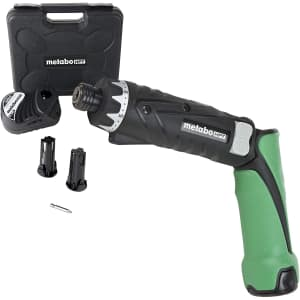 Metabo HPT DB3DL2 Cordless Screwdriver Kit for $103