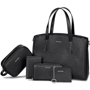 Baleine 5-Piece Handbag Set for $21