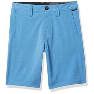 Volcom Boys' Little Frickin Surf N' Turf Hybrid Stretch Chino Short, Ballpoint Blue, 3T for $23