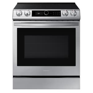 Samsung 6.3 cu ft. Smart Slide-in Electric Range with Air Fry for $1,600