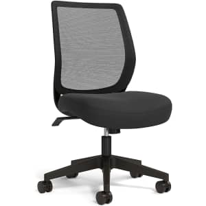 Union & Scale Essentials Mesh Back Armless Task Chair for $70