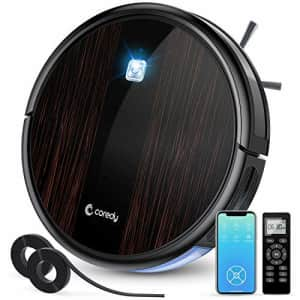 Coredy Upgraded R3500S Robot Vacuum Cleaner, 1700Pa Suction, Compatible with Wi-Fi Alexa, 2 for $142