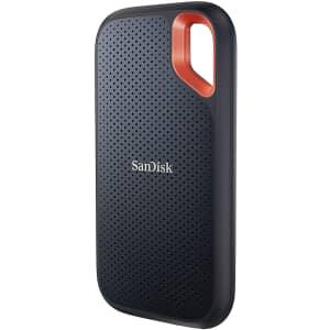 SanDisk Extreme V2 500GB USB-C 3.2 Gen 2 Portable SSD for $85
