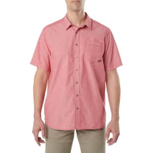 5.11 Tactical Men's Ares Short-Sleeve Shirt for $15