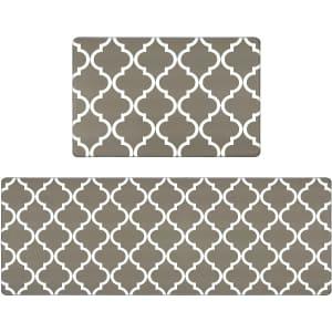 Homcomoda 2-Piece Anti Fatigue Floor Mat for $19