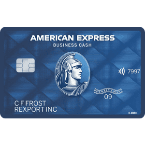 American Express Blue Business Cash™ Card: Earn up to 2% cash back
