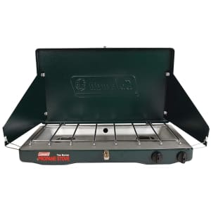Coleman Portable Propane Gas Stove with 2 Burners for $56