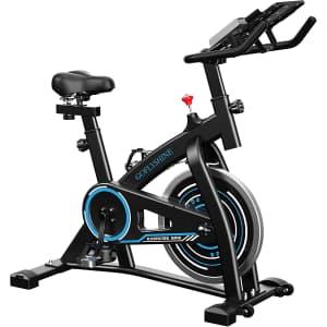 GoFlyShine Indoor Stationary Bike for $160
