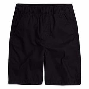 Levi's Boys' Little Pull On Shorts, Black, 4 for $17