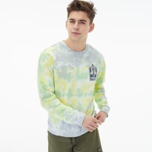 Aeropostale Men's NASA Tie-Dye Sweatshirt for $15