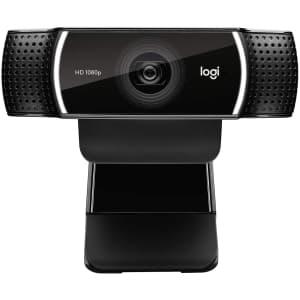 Logitech C922x Pro Stream 1080p Webcam for $80