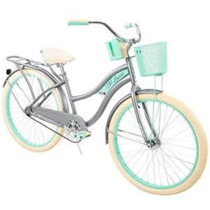 """Huffy, Nel Lusso Classic Cruiser Bike Frame, Women's, Gray, 26"""" for $277"""