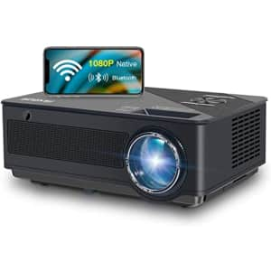 Fangor 1080p HD Bluetooth Projector for $210