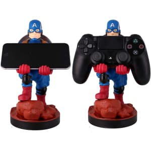 """Exquisite Gaming Captain America 8"""" Phone / Controller Holder for $18"""