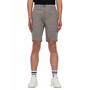 A|X Armani Exchange Men's Classic Bermuda Shorts, Charcoal Gray, 31 for $20