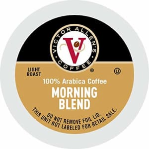 Victor Allen's Coffee Morning Blend, Light Roast, 200 Count Single Serve Coffee Pods for Keurig for $60