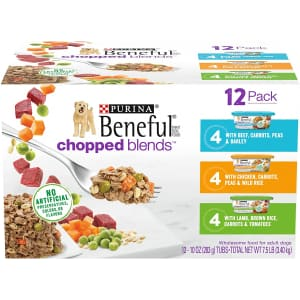 Purina Beneful Wet Dog Food Variety 12-Pack for $20
