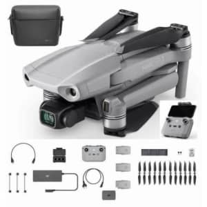 DJI Mavic Air 2 4K HDR Quadcopter Drone Fly More Combo for $749