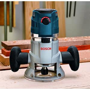 Bosch MRF23EVS 2.3 HP Electronic VS Fixed-Base Router with Trigger Control for $219