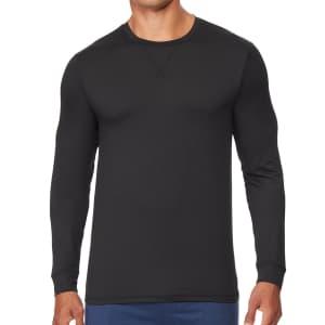 32 Degrees Men's Ultra Lux Long-Sleeve Sleep T-Shirt for $5