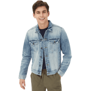 Aeropostale Men's Denim Trucker Jacket for $40