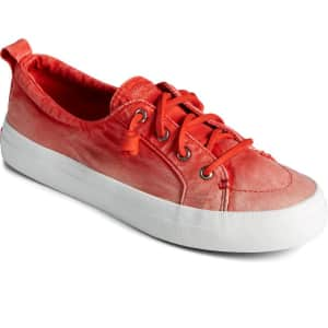Sperry Women's Crest Vibe Ombre Sneaker for $36