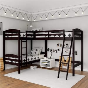 Dorel Clearwater Triple Bunk Beds for $400