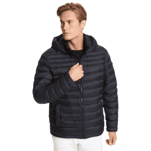 Michael Kors Men's Packable Quilted Puffer Jacket for $107