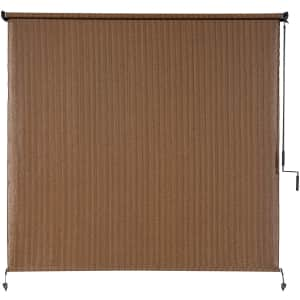 Coolaroo 4x6-Foot Exterior Roller Shade for $77