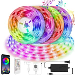 Mofut 65-Foot Smart LED Strip Lights for $20