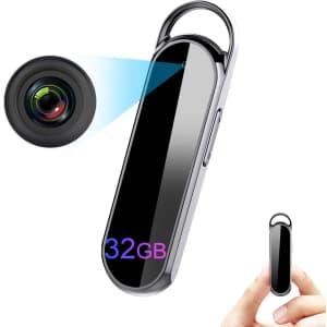 Binrrio 32GB 1080p HD Video Camera for $80
