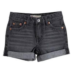 Levi's Girls' Girlfriend Fit Denim Shorty Shorts, Arya, 6 for $19