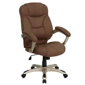 Flash Furniture High Back Brown Microfiber Contemporary Executive Swivel Ergonomic Office Chair for $270